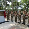 Visited by Chief of Army Staff